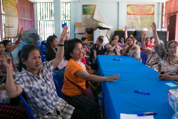 Women join village leadership at an important moment in the evolution of Thai forestry policies
