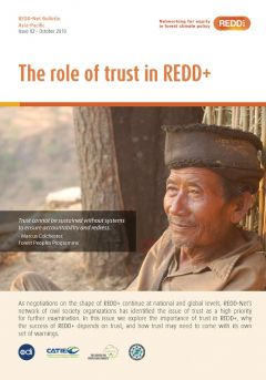 REDD-Net Asia-Pacific Bulletin #2: The Role of Trust in REDD+