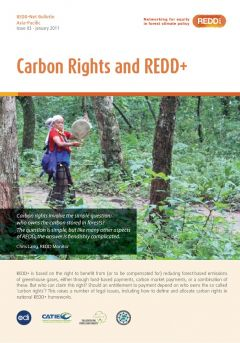 REDD-Net Asia-Pacific Bulletin #3: Carbon Rights and REDD+