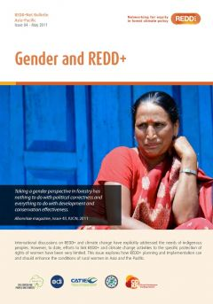 REDD-Net Asia-Pacific Bulletin #4: Gender and REDD+