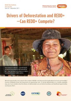REDD-Net Asia-Pacific Bulletin #5: Drivers of Deforestation and REDD+