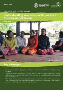 Understanding Women's Participation in Forestry in Cambodia