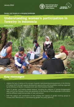 Understanding Women's Participation in Forestry in Indonesia