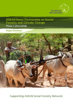 ASEAN-Swiss Partnership on Social Forestry and Climate Change Phase II (2014-2016)