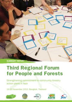 Third Regional Forum for People and Forests: Strengthening Commitment to Community Forestry Action Plans in Asia