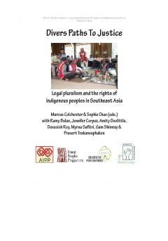 Divers Paths to Justice: Legal pluralism and the rights of indigenous peoples in Southeast Asia