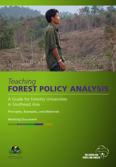 Teaching Forest Policy Analysis