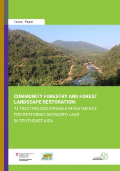 Community Forestry and Forest Landscape Restoration: Attracting Sustainable Investments for Restoring Degraded Land in Southeast Asia