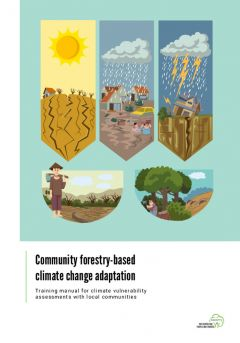 Community forestry-based climate change adaptation
